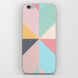 Geometric Pattern II iPhone Skin