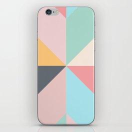 Geometric Pattern II iPhone Skin