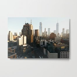 Southern Manhattan Sunset Metal Print