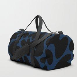 Blob Collage - Navy Duffle Bag