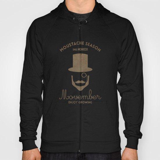 Moustache season Hoody