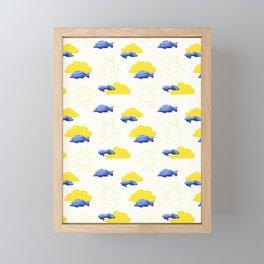 Fly Fishing Framed Mini Art Print