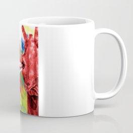 Oblivious Giraffe Coffee Mug
