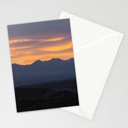Colorado Vista Sunset Panorama Stationery Cards