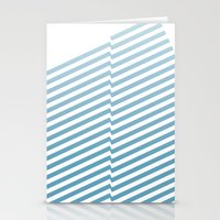 bands Stationery Cards featuring Blue Bands by blacknote
