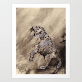 Heart of the Tiger Art Print