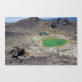 Lakes on the Alpine Crossing Canvas Print