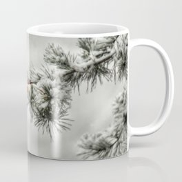 Winter Chickadee Coffee Mug