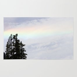 Mountaintop Rainbow Rug