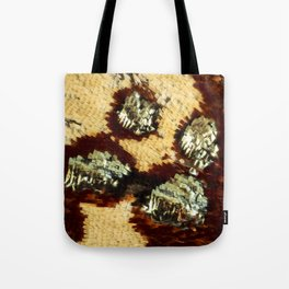 BUTTERFLY MAGNIFIED - ANTEROS FOMOSUS Tote Bag