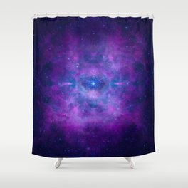 Galactic Pathway Shower Curtain