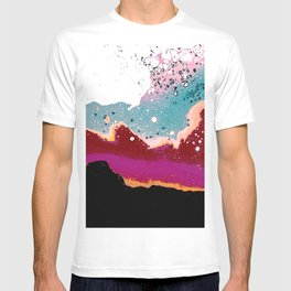 Logic Drowned In a Sea Of Emotion #digitalart #graphicdesign T-shirt