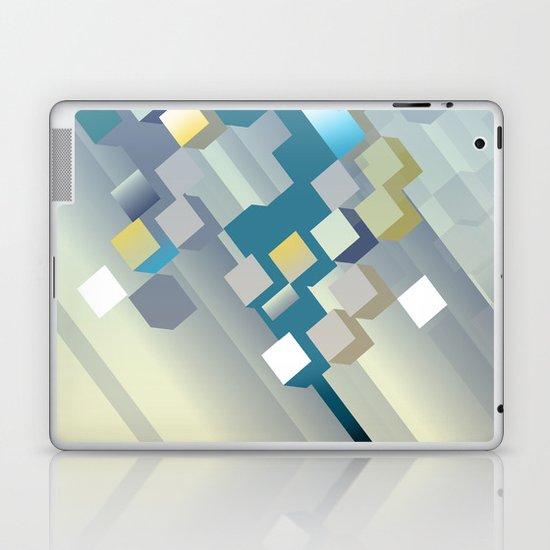 dawn breaks over harrisville Laptop & iPad Skin
