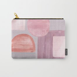 Mid-Century Pink Carry-All Pouch