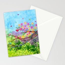 Garden for 3 sisters Stationery Cards