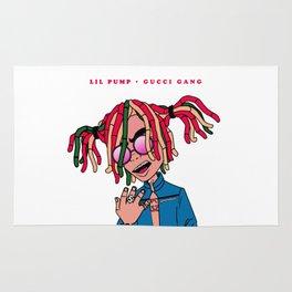 Lil Pump Guci Gang Rug