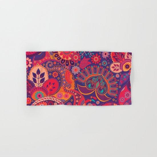 Shabby flowers #24 Hand & Bath Towel