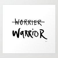 Inner Warrior Art Print