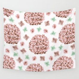 Rosette Bouquet Wall Tapestry