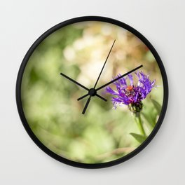 Flower Study No.2 Wall Clock