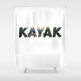 Kayak Lover Shower Curtain
