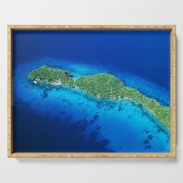 Romantic, Secret Island in Palau: Heaven's View Serving Tray