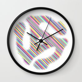 45 Record Insert Icon Wall Clock