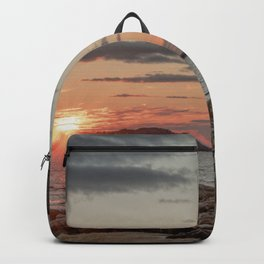 Sundown at the Annisquam Lighthouse Backpack