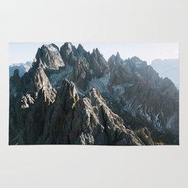 Dolomites Mountains - Landscape Photography Rug