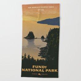 Fundy National Park Beach Towel