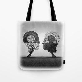 Psychology And Psychiatry Symbol Tote Bag