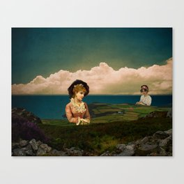 A Place For Lonely Girls Looking For Love Canvas Print