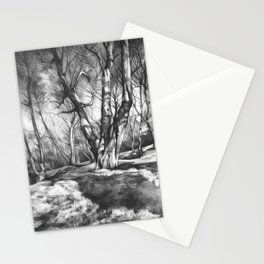 Musing of Trees Stationery Cards