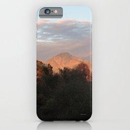 Near Sunset iPhone Case