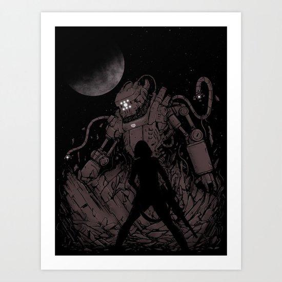 Surprise Attack 2.0 Art Print