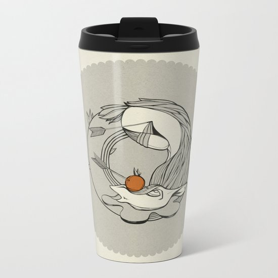 Forest /// Funeral Metal Travel Mug