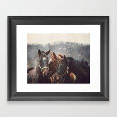 Nuzzle Framed Art Print