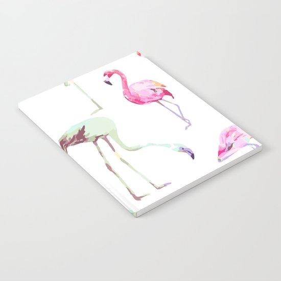 Flamingo Formation #society6 Notebook