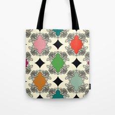 Moroccan Rose Motif Tote Bag