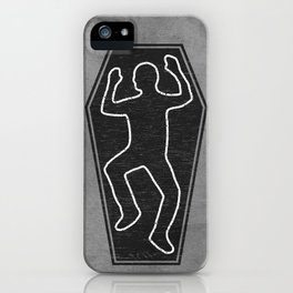 Chalk Outline iPhone Case