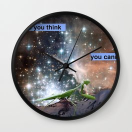 Do the Things You Think You Cannot Do Wall Clock