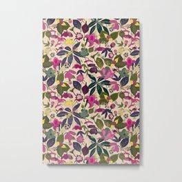 Juicy Floral Metal Print