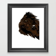 Flatcoated Framed Art Print