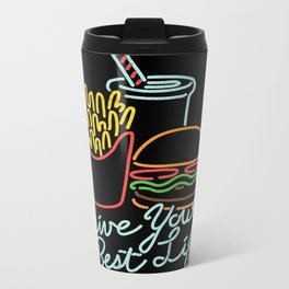 Live Your Best Life Metal Travel Mug
