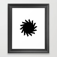 Sun 03 Framed Art Print
