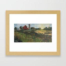 Farmette Framed Art Print