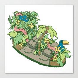 Dream Socks Canvas Print