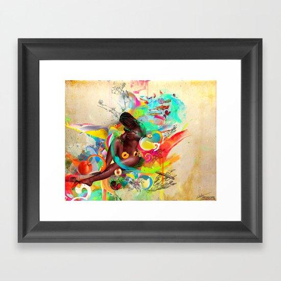 Southern Love Framed Art Print