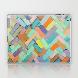 Peachy Internodes Laptop & iPad Skin