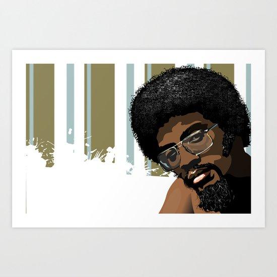 Vector Herbie Hancock Art Print